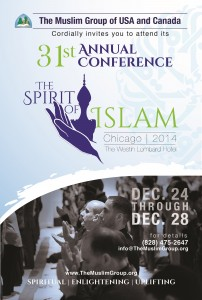 The Muslim Group of USA and Canada: round table and conference @ The Westin Lombrad Hotel | Chicago | Illinois | États-Unis