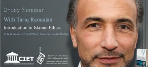 "Seminar Invitation ""Introduction to Islamic Ethics"" Ghent, Belgium @ Vormingcentrum Guislain 