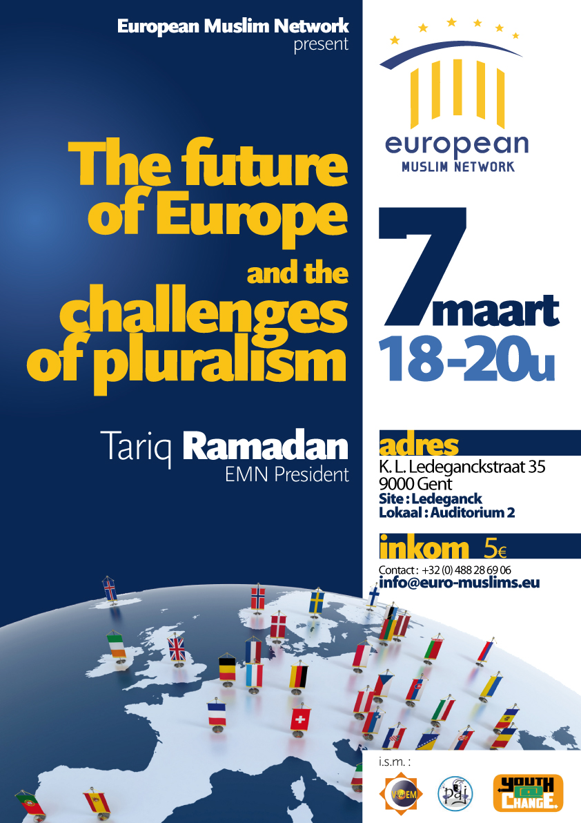 Conférence publique EMN: The future of Europe and challenges of pluralism @ UniversiteitsForum | Gand | Région Flamande | Belgique