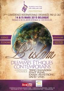 3éme conférence international du CILE: L'islam et les dilemmes comtemporains @ Bruxelles | Bruxelles | Belgique