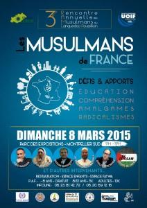 """3éme Rencontre Annuelle des Musulmans du Languedoc Roussillon - """"Les musulmans de France: défis et apport"""" @ Pérols   Languedoc-Roussillon   France"""