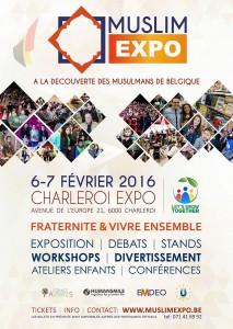 """Muslim Expo - """"Fraternité & Vivre ensemble"""""""
