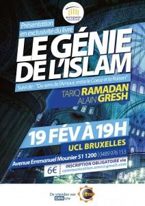 """EMN - Présentation du livre """"Le génie de l'islam"""" avec Alain Gresh @ UCL Bruxelles"""