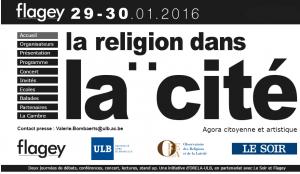 """ULB-ORELA: """"La religion dans la cité"""" @ Studio 4 Flagey   Ixelles   Bruxelles   Belgique"""