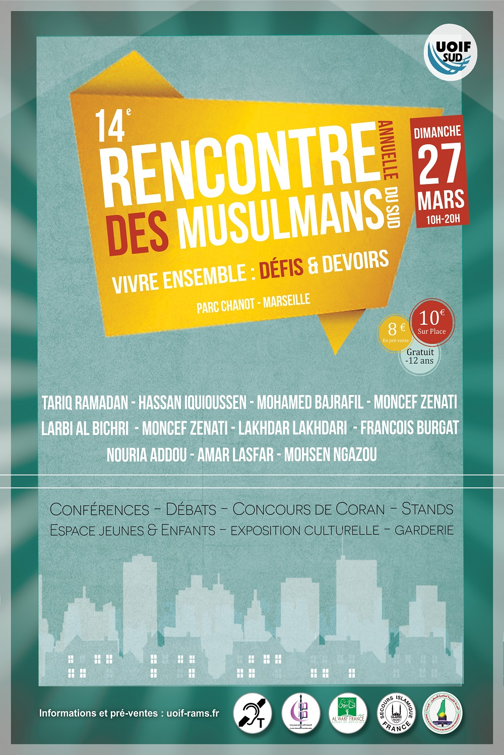 Rencontre annuelle des musulmans du sud 2018